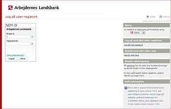 log på netbank arbejdernes landsbank